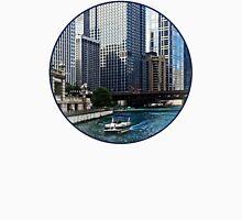 Chicago IL - Chicago River Near Wabash Ave. Bridge Unisex T-Shirt