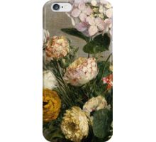Henri Fantin-Latour - Flowers and Fruit 1866 iPhone Case/Skin