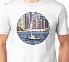 Chicago IL - Sailing on Lake Michigan Unisex T-Shirt