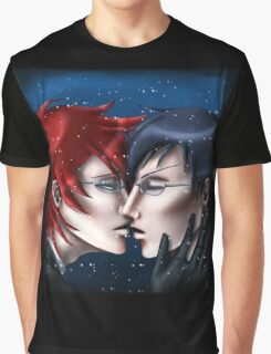 A Kiss in the Snow Graphic T-Shirt