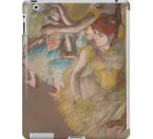Edgar Degas - Ballet Dancers on the Stage (1883)  Impressionism iPad Case/Skin