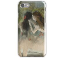Edgar Degas - Ballet at the Paris Opera (1877)  Impressionism iPhone Case/Skin