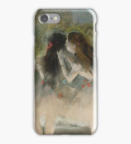 Edgar Degas - Ballet at the Paris Opera (1877)  Impressionism iPhone Case/Skin