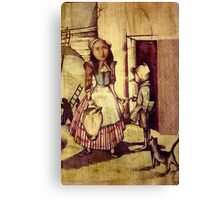 A Fractured Fairy Tale Canvas Print
