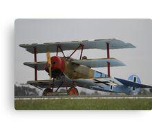 Fokker DR.1 Triplane Canvas Print