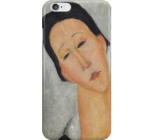 Amedeo Modigliani - Portrait of a Polish Woman 1919 Woman Portrait  Fashion  iPhone Case/Skin