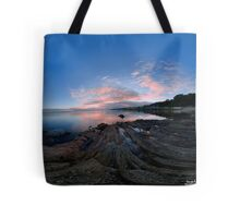Dusk Shoreline near Moville, Donegal (Rectangular) Tote Bag