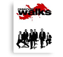 Reservoir Walks Canvas Print