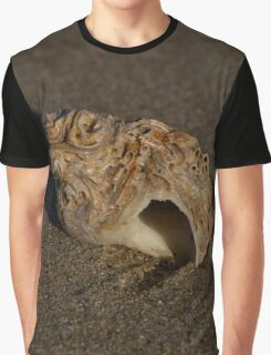 Weathered Whelk on Fahan Beach Graphic T-Shirt