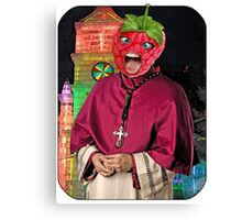 Raspberry Bishop Canvas Print