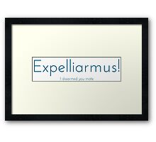 Expelliarmus! Framed Print