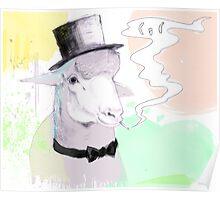 Smokin' sheep Poster