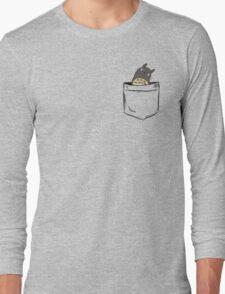 Totoro Pocket Long Sleeve T-Shirt