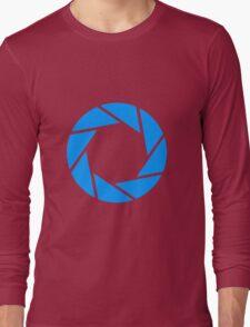 Aperture science logo merch! Long Sleeve T-Shirt