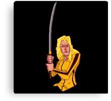 Kill Bill Broforce Canvas Print