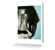 vanity Greeting Card