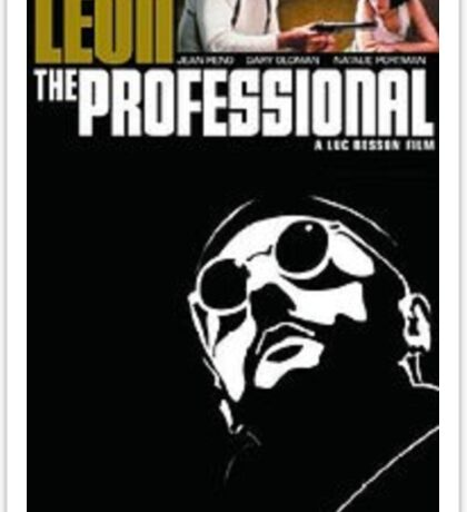 leon the professional Sticker