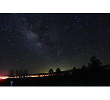 Hitchhiking through Williams Arizona Photographic Print