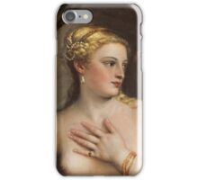 Tiziano Vecellio, Titian - Venus with a Mirror  iPhone Case/Skin