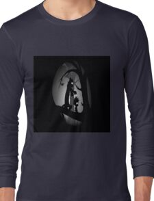 Calvin and Hobbes Horror  Long Sleeve T-Shirt