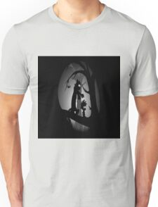 Calvin and Hobbes Horror  Unisex T-Shirt