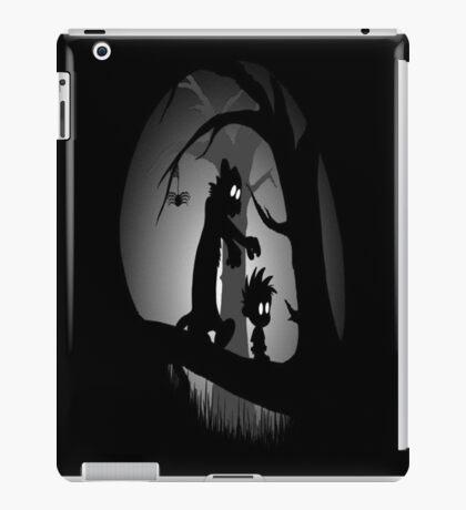Calvin and Hobbes Horror  iPad Case/Skin