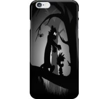 Calvin and Hobbes Horror  iPhone Case/Skin