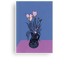 Wonky Flora Canvas Print