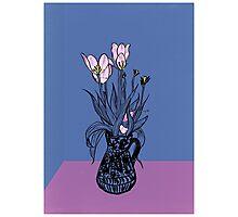 Wonky Flora Photographic Print