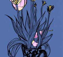 Wonky Flora Sticker