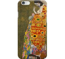Klimt - Hope . Klimt , Woman  iPhone Case/Skin