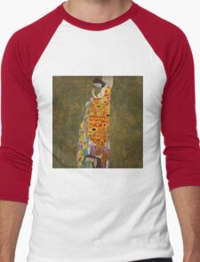 Klimt - Hope . Klimt , Woman  Men's Baseball ¾ T-Shirt