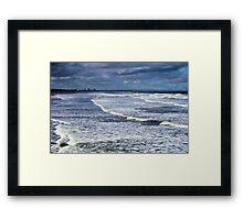 Tidal Surge At The Flood Framed Print