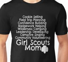 Girl Scouts Mom Daisy Brownie Cadette Junior Senior Ambassador Cookie Booth Troop Unisex T-Shirt