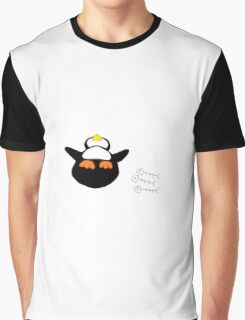 Overfed Penguin Graphic T-Shirt