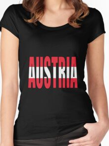 Austria Women's Fitted Scoop T-Shirt