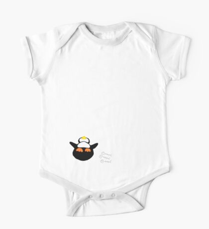 Overfed Penguin One Piece - Short Sleeve