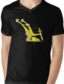 The original Starry Plough flag flown during the Easter rising Mens V-Neck T-Shirt