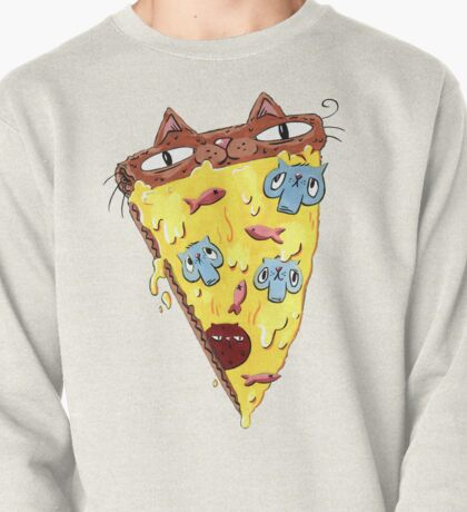 Pizza Kitty Pullover