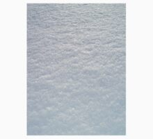 FRESH SOFT WHITE LYING SNOW TEXTURE One Piece - Long Sleeve
