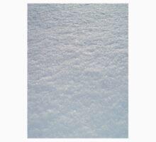 FRESH SOFT WHITE LYING SNOW TEXTURE One Piece - Short Sleeve