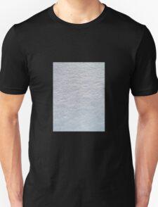 FRESH SOFT WHITE LYING SNOW TEXTURE Unisex T-Shirt
