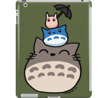 Totoro Trio iPad Case/Skin