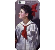 Norman Rockwell  - Spelling Bee  iPhone Case/Skin