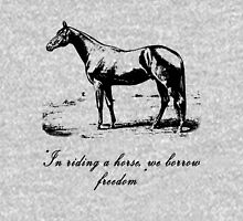 Horse Champion Colt Over Vintage Dictionary Page T-Shirt