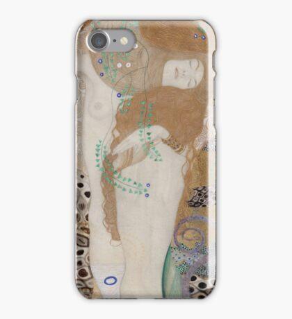Gustav Klimt  - Water Serpents iPhone Case/Skin