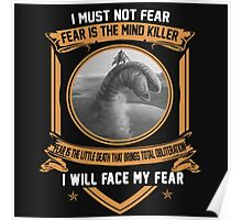 I must not fear Poster