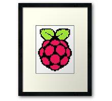 Raspberry Pi 8-Bit Framed Print