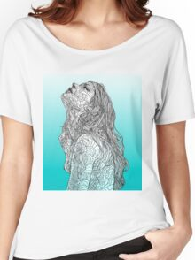 Sketch of Tender Hope Women's Relaxed Fit T-Shirt