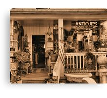 """""""Ruthie's Antiques""""... prints and products Canvas Print"""